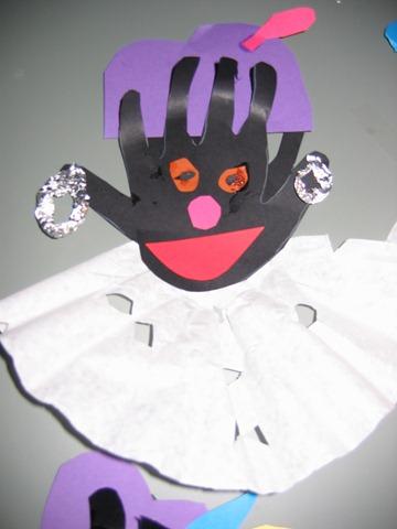 Juf Desiree 187 Blog Archive 187 Zwarte Piet Van Een Hand