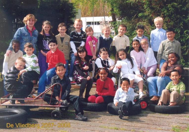 Groep 4a 2007-2008